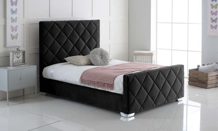 Carnation Bed Frame with Optional Mattress