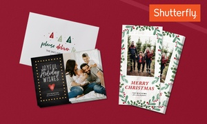 Holiday Cards w/Custom Envelopes