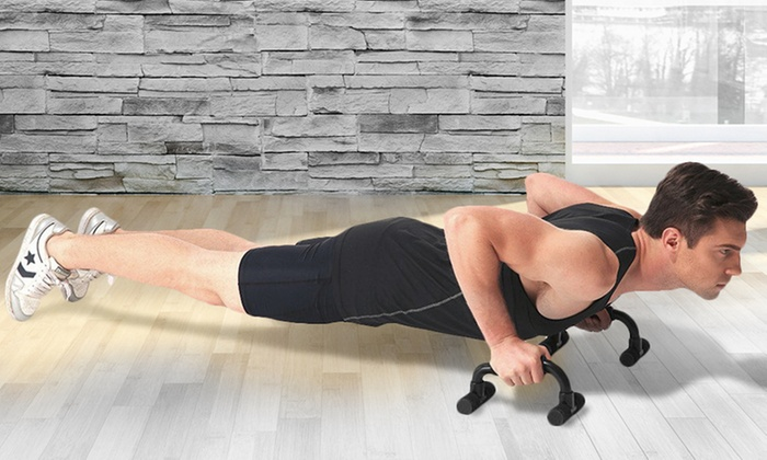 Groupon Goods Global GmbH: One or Two Sets of Push-Up Bars