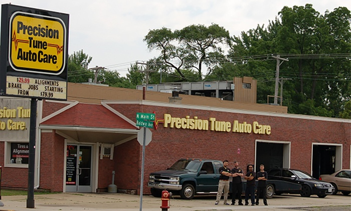 Auto Care Services at Precision Tune Auto Care (Up to 72% Off). Five Options Available.