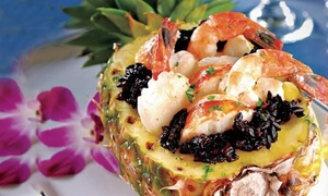 Marina Grog & Galley: Seafood and Steak at Marina Grog & Galley (Up to 45% Off). Two Options Available.