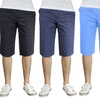 Galaxy By Harvic Men's 100% Cotton Flat Front Shorts