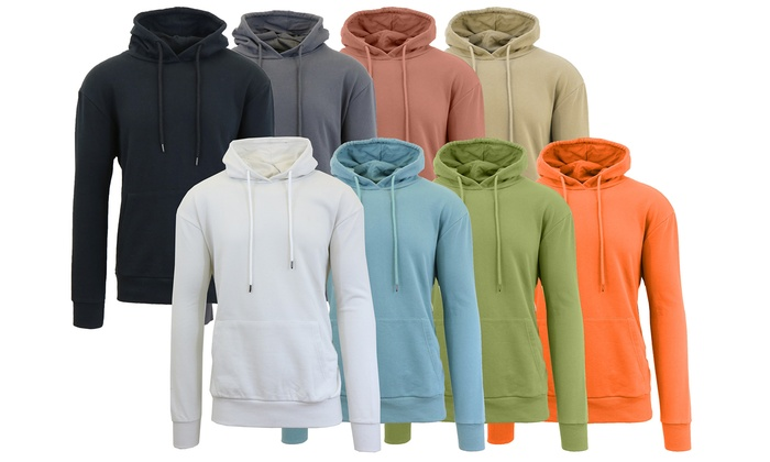Men's 100% Cotton Heavyweight Pullover Hoodie
