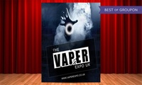 Vaper Expo UK on 28 May at the NEC Birmingham (Up to 38% Off)
