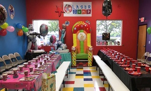 Laser Jump: Birthday Party for up to Eight or 16 Kids at Laser Jump (Up to 38% Off)