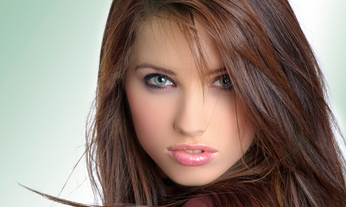 Didi's Hair Salon - Cutler Bay: Blow-Dry, Style, and 5-in-1 Reconstructor Treatment with Haircut Option at Didi's Hair Salon (Up to 76% Off)