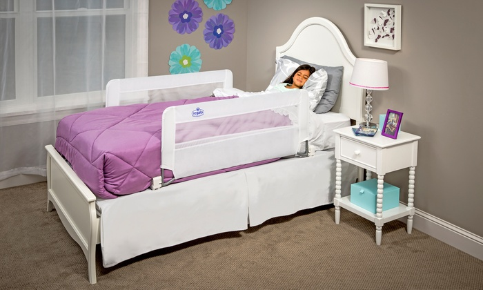 Regalo Swing-Down Double-Sided Safety Bed Rail