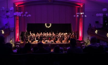 image for Admission for Two or Four Adults and Two or Four Drink Tickets for Balcony Seats to Clinton Holiday Pops Concert