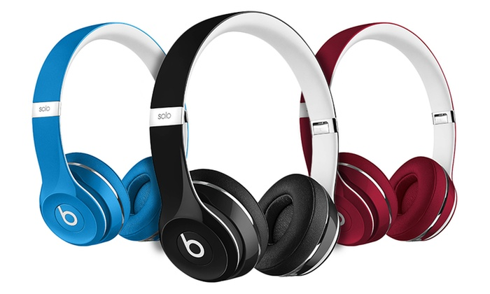 Beats by Dre Solo 2 Wired (Refurbished A-Grade) | Groupon