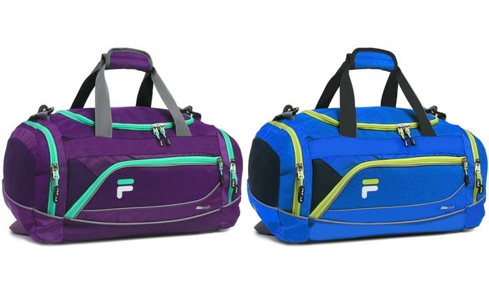 Up To 38% Off on Fila Sprinter Sports Duffel Bag   Groupon Goods e1a0f36e07