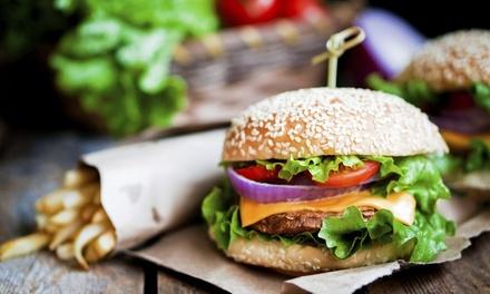 Burger maison au choix avec frites et boissons pour 1, 2, 3 ou 4 personnes dès 6,90 € au restaurant Le Brooklyn