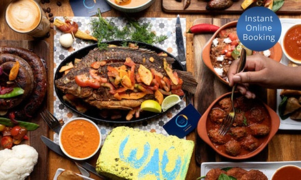 African Meal with Drink for Two $39, Four $78 or Six People $117 at Wau Kitcheñ Up to $277.20 Value