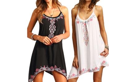 1 o 2 vestidos de playa para mujer modelo Tina