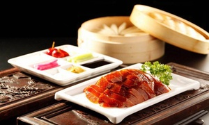 LOriental Fusion: $48 Whole Peking Duck Two Ways + Entree, Wine for 2 or $25 for $50 Toward Dinner at L'Oriental Fusion (Up to $96 Value)