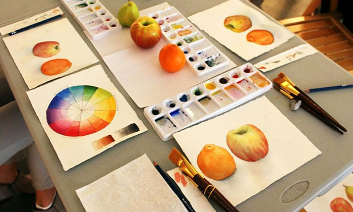 Basic Watercolor Painting Class - Chelsea: Practice Watercolor Painting with a Professional Illustrator