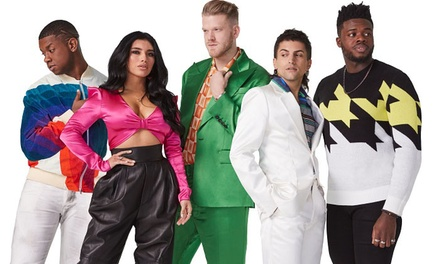 Pentatonix: The World Tour w/ Special Guest Rachel Platten on August 20 at 7:30 p.m.
