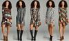 Shoppe247 Women's Pattern Swing Dress: Shoppe247 Women's Pattern Swing Dress