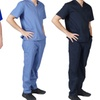 M&M Scrubs Men's Solid 8-Pocket Scrub Set