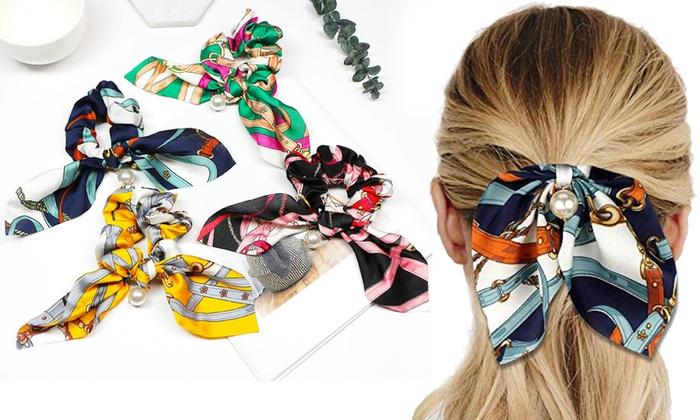 baskets pour pas cher une grande variété de modèles gros en ligne jusqu'à 72% Chouchous foulards cheveux | Groupon