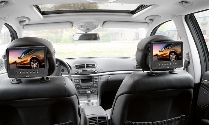 Jusqu 39 67 lecteur dvd voyage pour voiture groupon - Lecteur cd pour voiture avec port usb ...