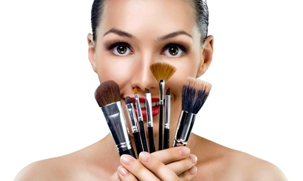Makeup Application or Custom Spray Tan at The Beauty Box (Up to 58% Off)
