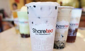 20% Cash Back at Sharetea San Gabriel at Sharetea San Gabriel, plus 6.0% Cash Back from Ebates.