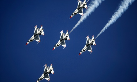 Thunder Over Michigan Air Show feat. The USAF Thunderbirds with Parking on Saturday, August 25 or Sunday, August 26