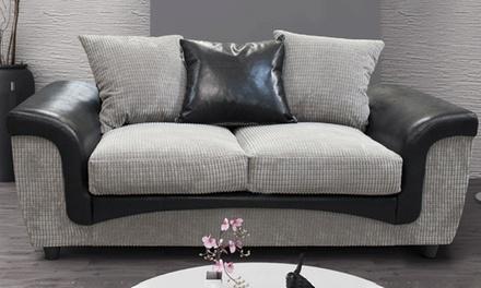 Aston Fabric Two-Seat Sofa
