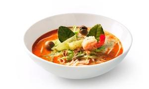 Sushi Kushi: Smaki Dalekiego Wschodu: syta uczta pad thai dla 2 osób za 65,99 zł i więcej opcji w Sushi Kushi w Gliwicach (do -39%)