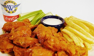 Wings to Go: $18 for Three Groupons, Each Good For $10 Worth of Wings and American Food at Wings To Go ($30 Value)