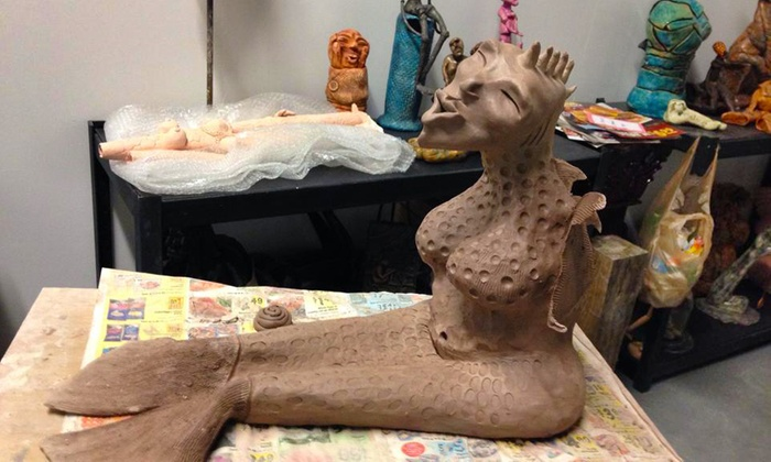 Sculpture by Sylvie - Wilton Manors: Clay-Sculpting Class for One or Two at Sculpture by Sylvie (Up to 52% Off)