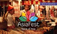 1 oder 3-Tagesticket für 2 Personen für das AsiaFest vom 16.06.bis 18.06.17 in München (50% sparen)