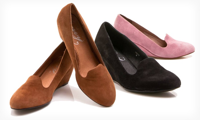 Envy Iness Women's Loafer Wedges: $32.99 for One Pair of Envy Iness Women's Loafer Wedges ($89 List Price). Multiple Options. Free Shipping and Returns.