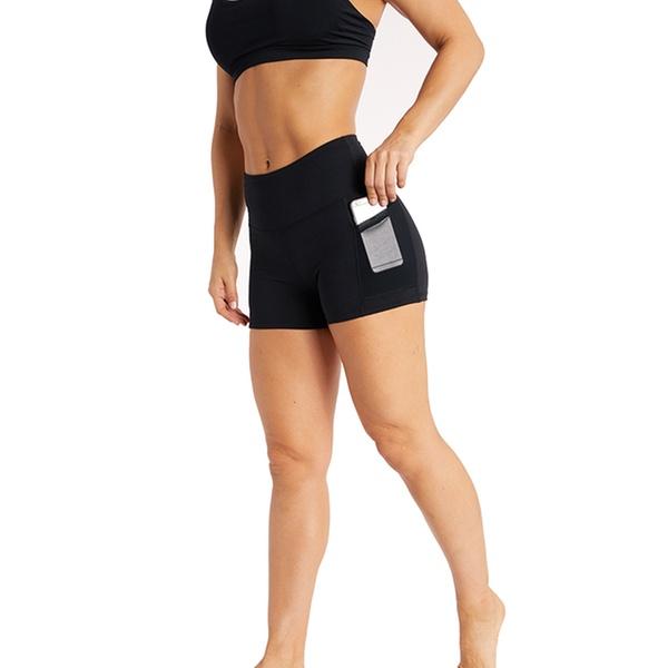 63715d16e4114 Up To 63% Off on Marika Women's High Waist Shorts | Groupon Goods