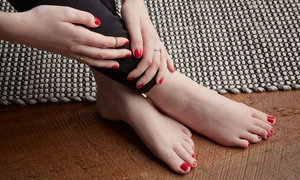 Aspyn Beauty: Gel Manicure ($19), Pedicure ($25), or Manicure with Threading ($29) at Aspyn Beauty (Up to $80 Value)