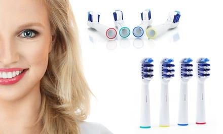 Pack de 4, 8, 12 o 16 recambios compatibles con cepillos eléctricos Oral B