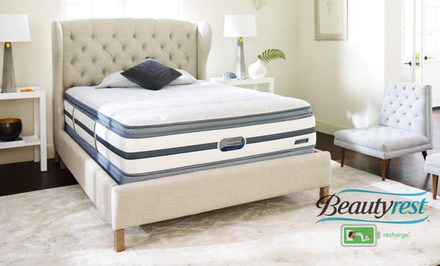 Simmons Beautyrest Recharge Mattress Sets (Up to 60% Off). 5 Sizes Available. Free White-Glove Delivery.