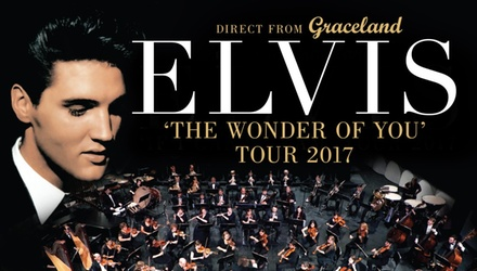 Elvis The Wonder of You Tour: Ticket Upgrade Offer from .45, 26 May 10 June, National Locations