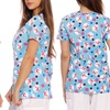 Women's Dreamcrest Christmas Scrub Tops (Sizes XS & XL)
