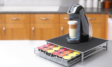 Coffee Machine Stand with Capsule Pod Storage Drawer for €18.99