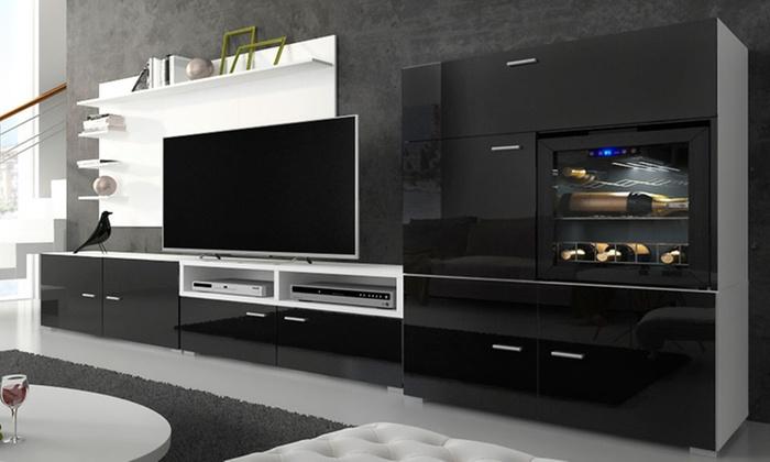 salon cave vin la sommeli re int gr e groupon. Black Bedroom Furniture Sets. Home Design Ideas