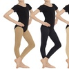 Girls' Classic Footless Tights (2-Pack)