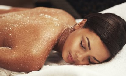 image for Body Scrub, Massage and Facial at The Beauty Lodge Spa (49% Off)