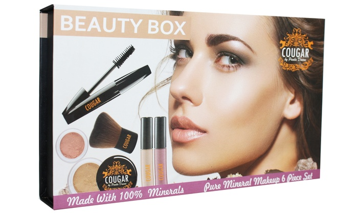 Groupon Goods Global GmbH: Cougar Beauty Box mit 5 Basics für die tägliche Make-up Routine