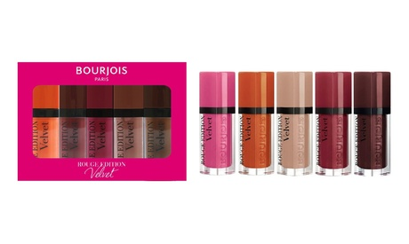 1 o 2 packs de barras de labios Rouge Edition Velvet Bourjois