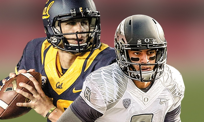 University of California Football vs. University of Oregon - Levi's Stadium: One Ticket to Cal vs. Oregon at Levi's Stadium on Friday, October 24 (Up to 63% Off). Four Seating Options.