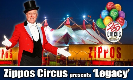 Zippos Circus, Side View Ticket, 30 March - 10 April, Blackheath (Up to 50% Off)