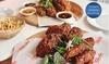Fried Chicken Platter + Sides