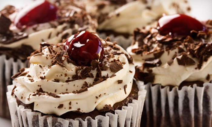 The Sweet Spot - Southeast Arlington: $6 for $12 Worth of Cupcakes, Frozen Desserts, and Paninis at The Sweet Spot