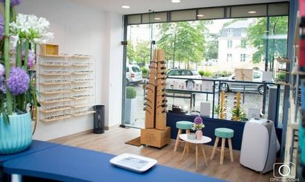 Un bon d'achat de 100 € ou de 200 € valable pour l'achat d'un équipement optique dès 9,90 € à l'Atelier du bien voir